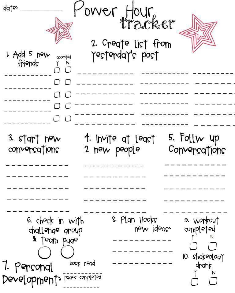 prospect list template